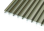 Bronze Opal Polycarbonate Conservatory Roof